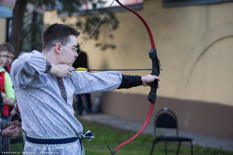 Томичи поучаствуют в рыцарском турнире и постреляют из лука в День молодежи