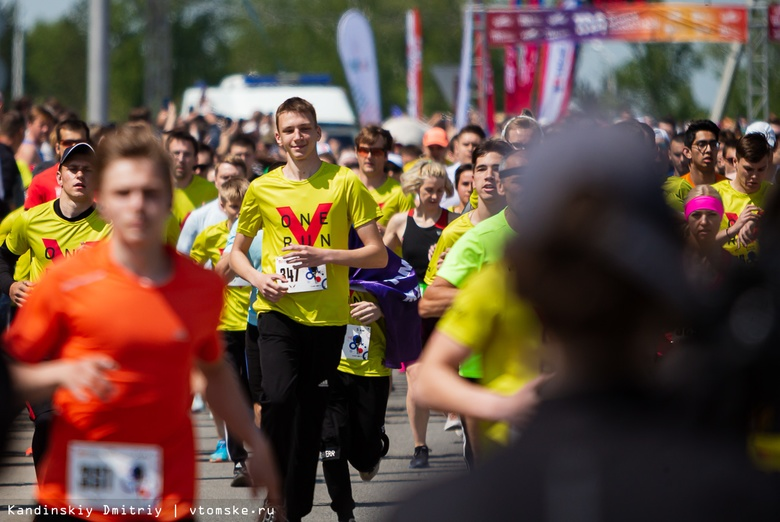 На спорте: как в Томске прошли полумарафон «ЗаБег» и соревнования по триатлону
