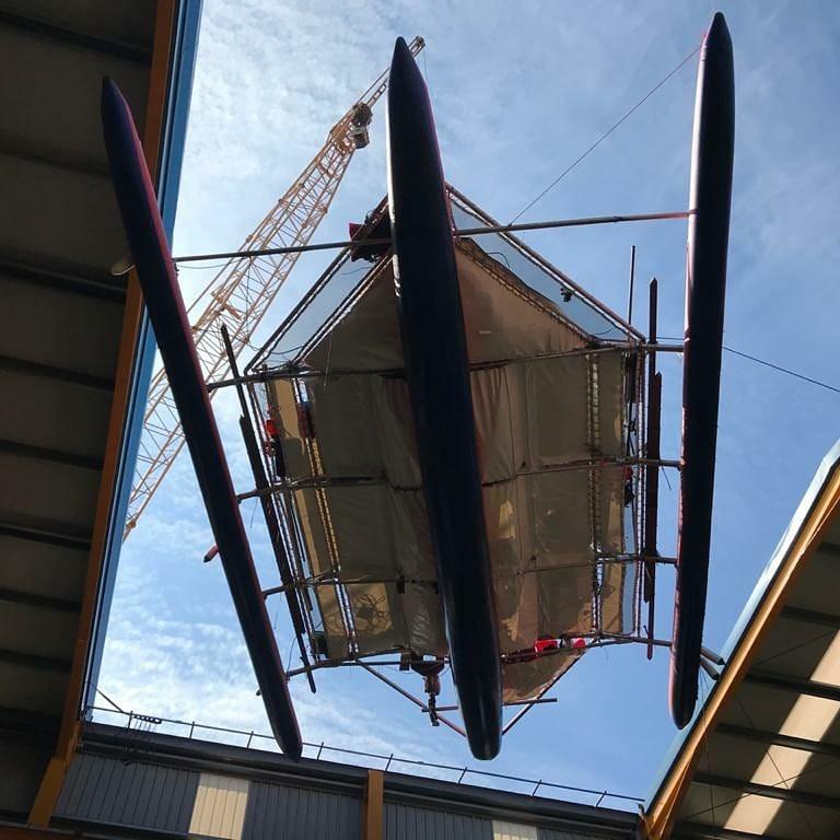 Экипаж томской кругосветки ремонтирует тримаран и готовится к выходу в Атлантику