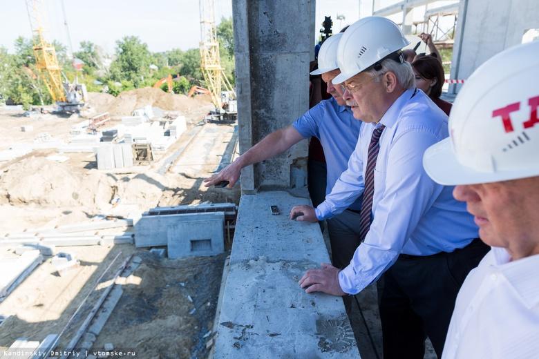 Жвачкин посетовал на монополию в томском строительстве