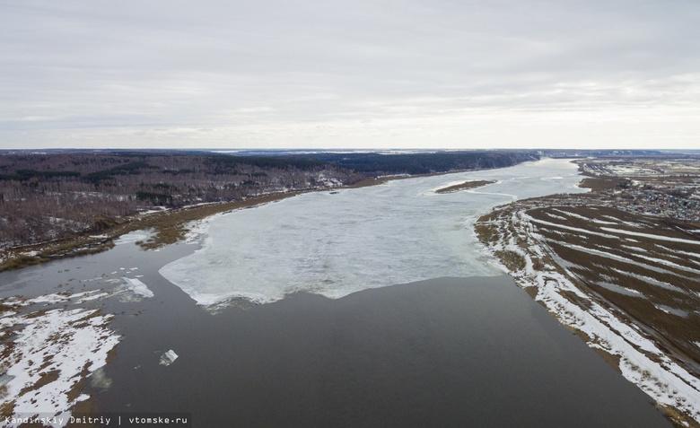 Обь полностью вскрылась в Томской области