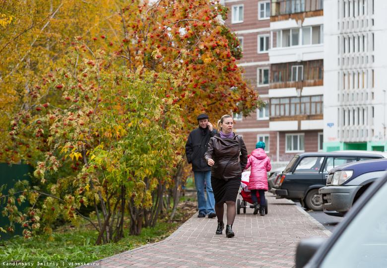 Паршуто: благоустройство дворов Томска на средства федерации готово на 60 %