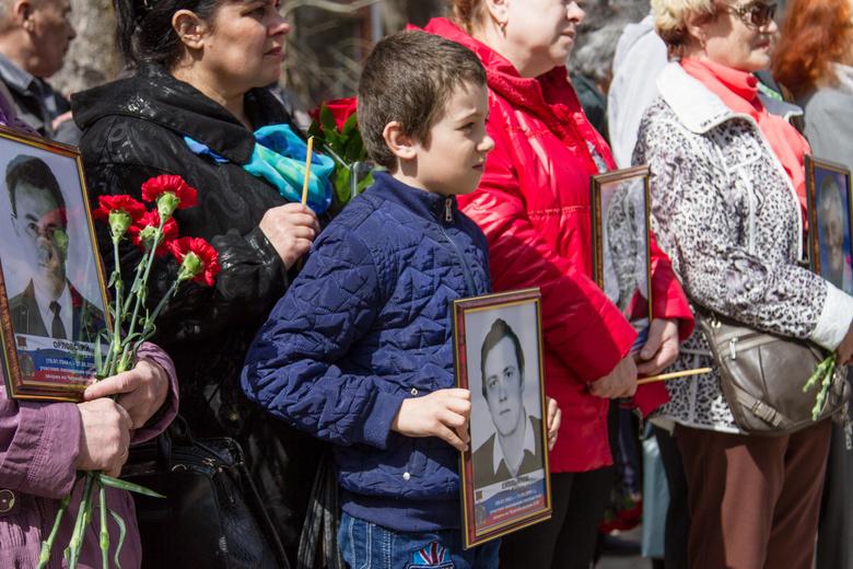 В31-ю годовщину взрыва наЧернобыльской АЭС орловцы собрались намитинге