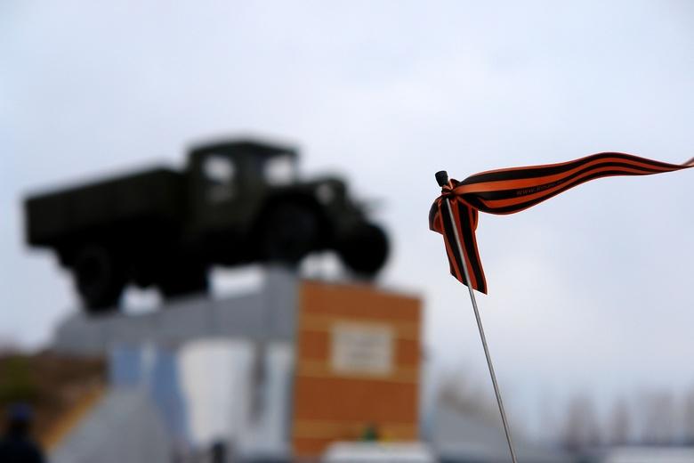 Волонтеры раздадут более 6 тыс георгиевских лент в томских ТЦ