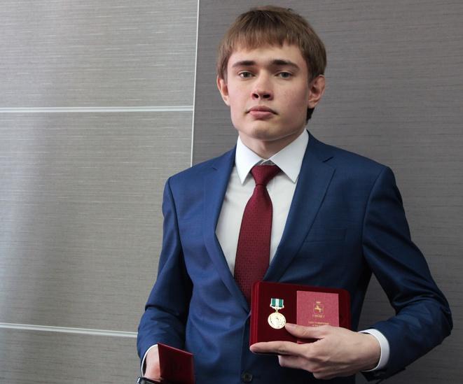 Набравший 300 баллов на ЕГЭ Глеб Уткин стал «Томичом года»