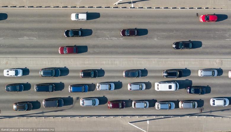 Пробки парализовали движение авто на нескольких улицах Томска