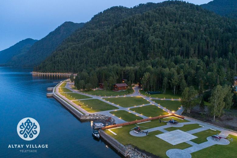 Курорт Altay Village Teletskoe первым в Сибири завоевал международную премию