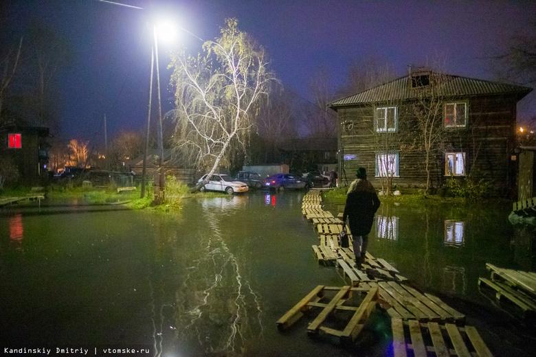 Канализационной водой затоплены около 10 дворов на Черемошниках в Томске