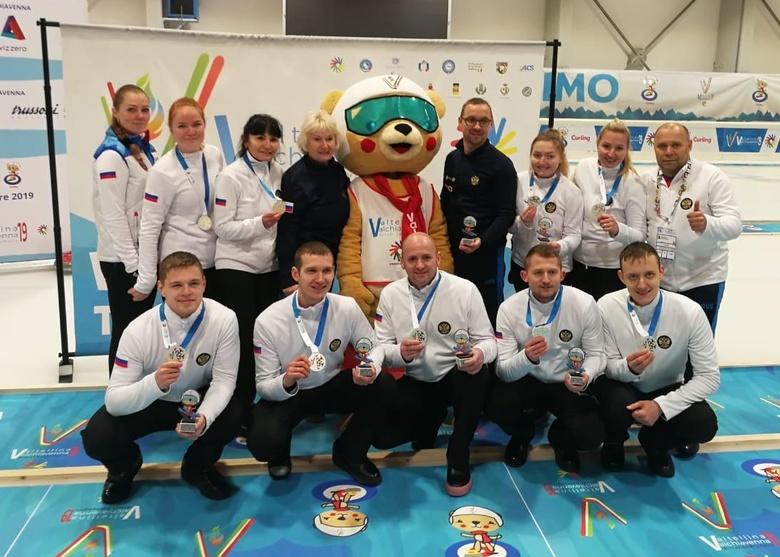 Керлингисты из Томской области завоевали серебро на Сурдлимпийских играх