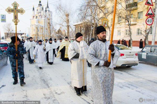 Движение на Пушкина в Томске перекроют в пятницу из-за крестного хода