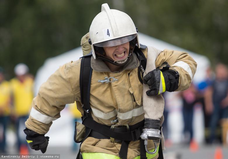 Суровые огнеборцы: пожарный кроссфит впервые прошел в Томске