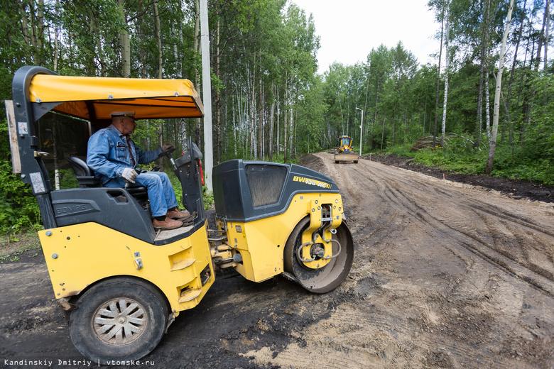 Участок лыжероллерной трассы в Томске придется заново асфальтировать