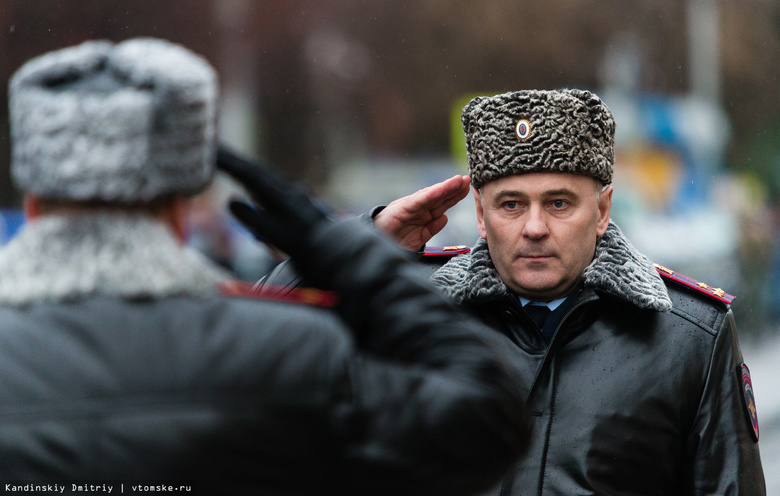Глава томской полиции за 2017г заработал более 2 млн руб