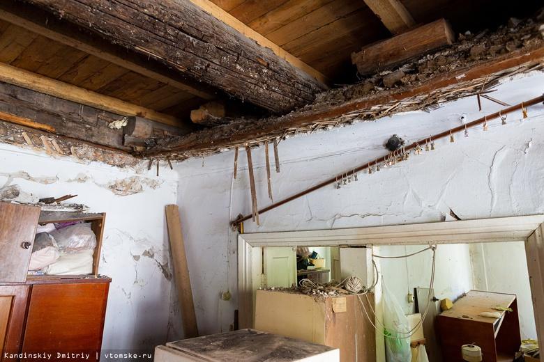 Эксперты: износ столетнего дома с рухнувшим потолком на Советской составляет 66%