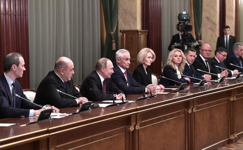 Президент РФ на встрече с членами нового правительства