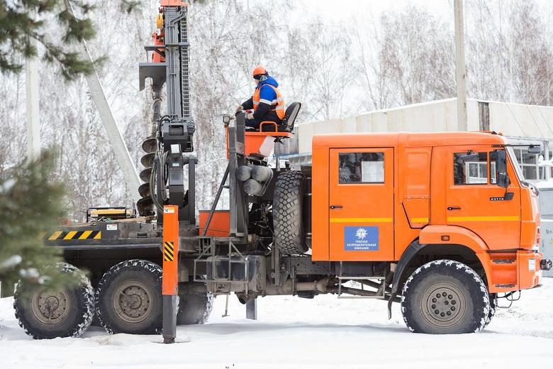 Зимние особенности томской энергетики