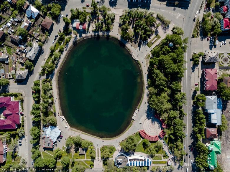 Томские аквалангисты очистили дно Белого озера от мусора