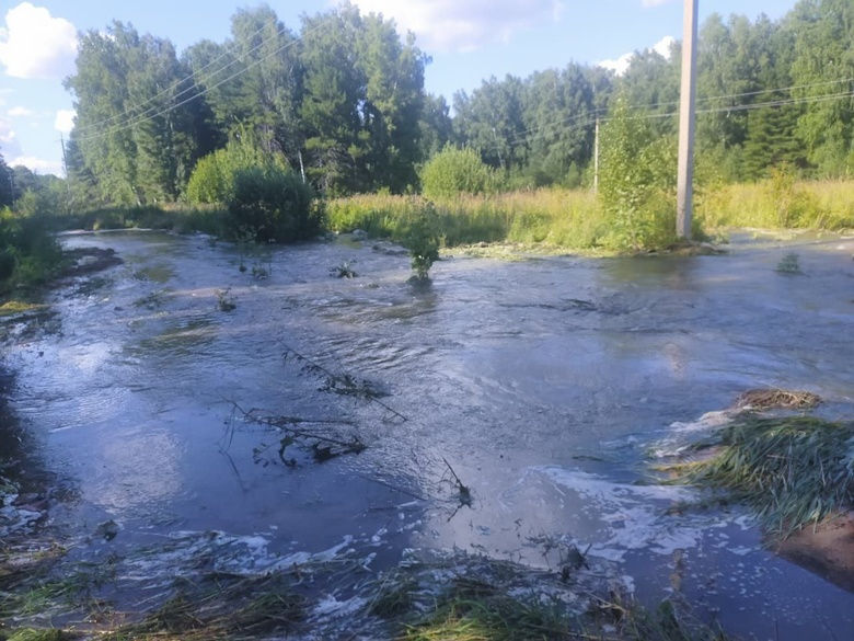 Тысячи домов в Томске попали под отключение воды из-за аварии на водозаборе