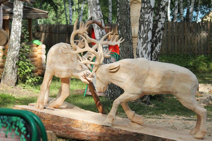 Деревянная сказка (фото)