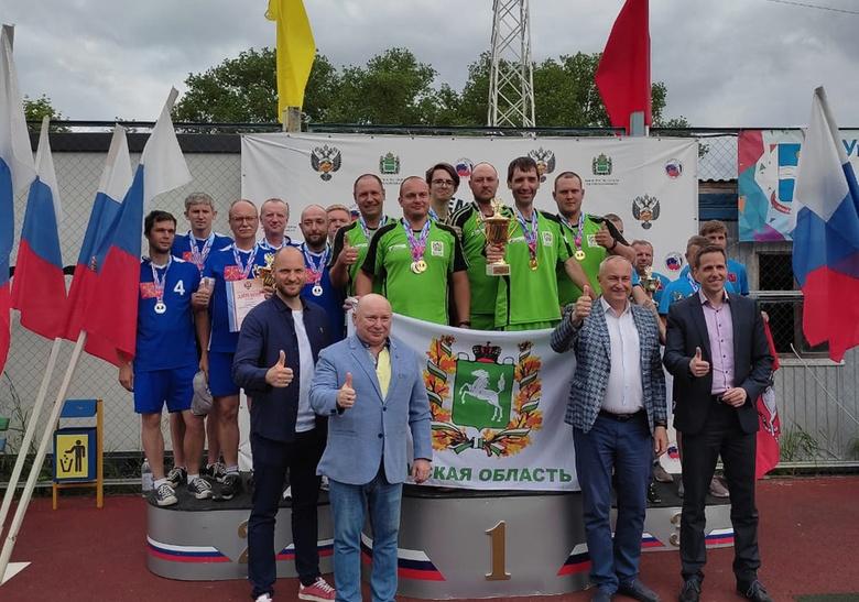 Команда Томской области завоевала золото на чемпионате России по городошному спорту