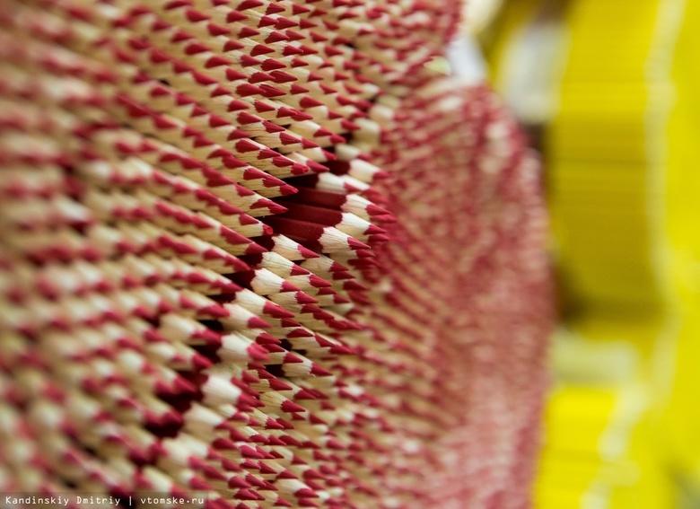 Власти: томская карандашная фабрика не выдержала конкуренции