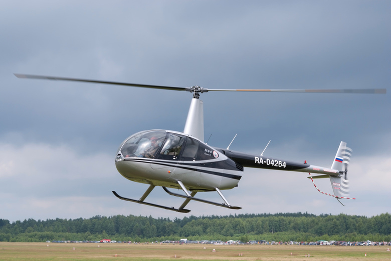 Томские власти продают купленный для авиалесоохраны вертолет Robinson