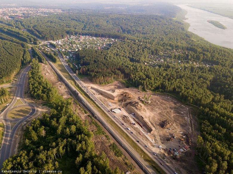 Застройщик развязки на 76 км восстановит уничтоженную часть «Тропы здоровья»