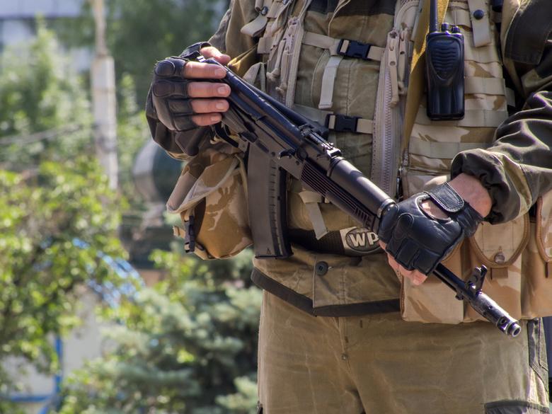 Отряд ополченцев из Томска прибыл в Луганскую народную республику