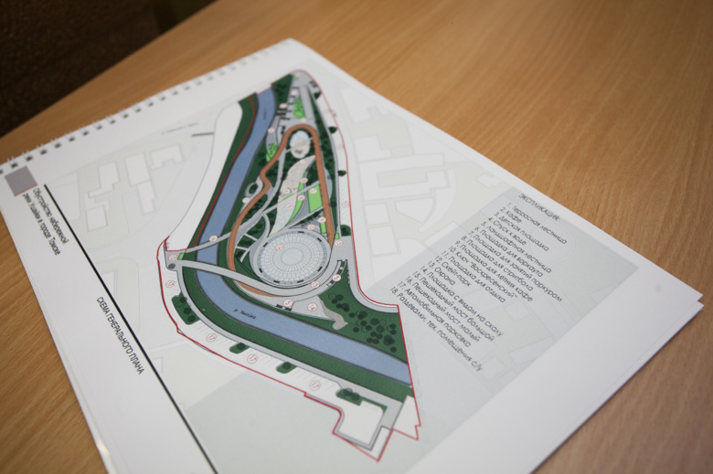 На набережной Ушайки появятся два пешеходных моста и спортивный парк (фото, видео)