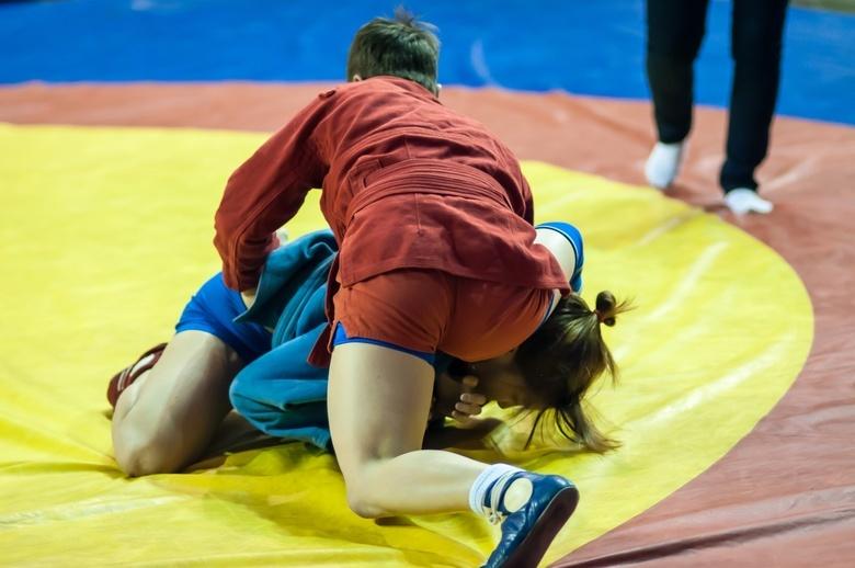 Самбисты из Томской области взяли 15 медалей всероссийского турнира