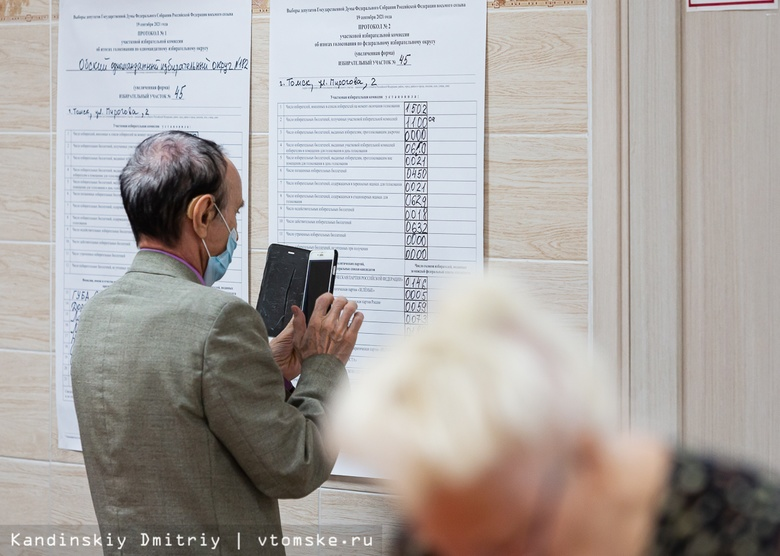 Опубликованы первые данные по выборам в думу Томской области
