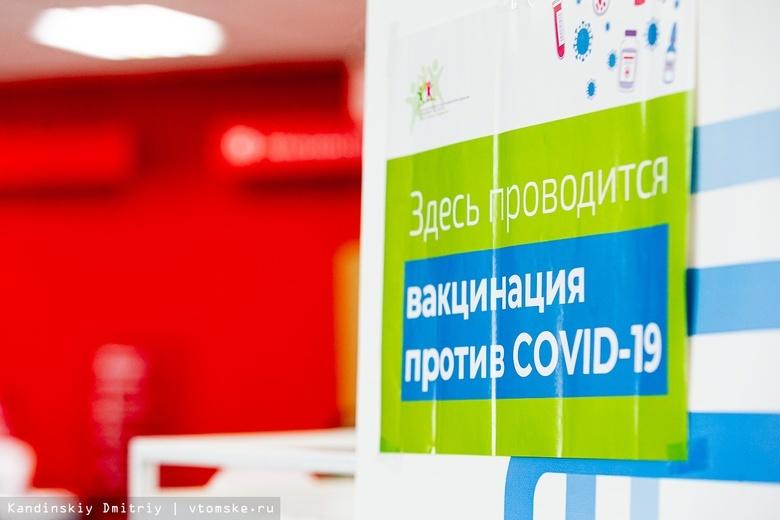 Шесть пунктов вакцинации будут работать в Томске в выходные