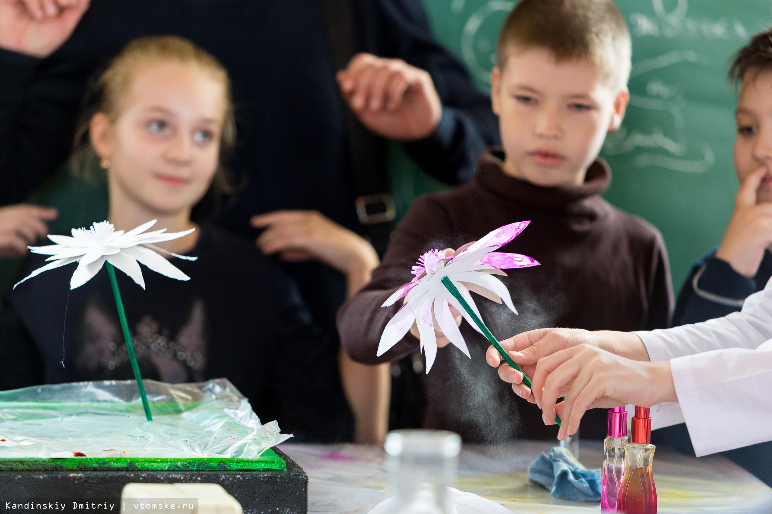 Химические опыты и шоу молний увидели юные томичи на фестивале в ТПУ