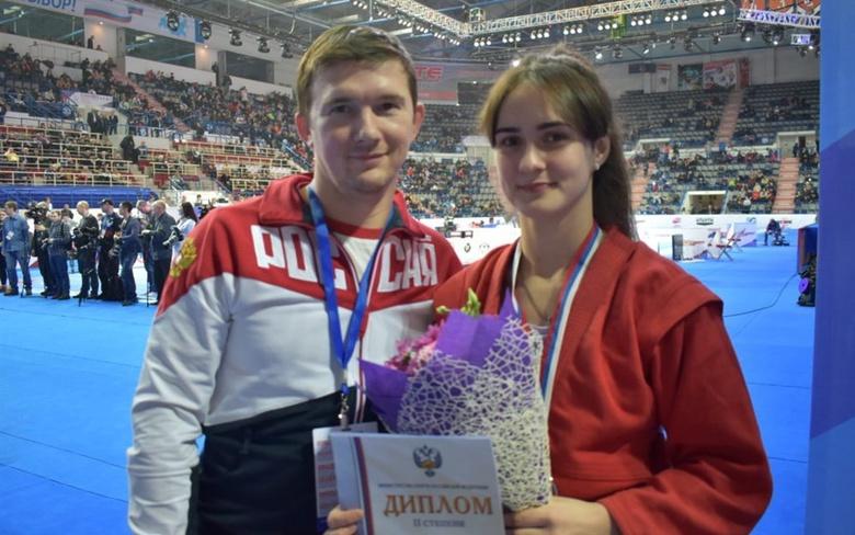 Северчанка взяла серебо на чемпионате России по самбо