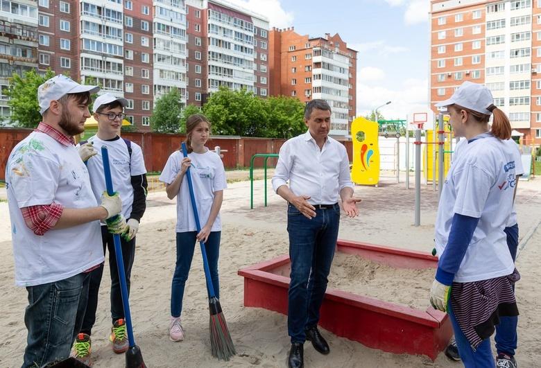 Депутат Сергей Автомонов собрал в Томске новых тимуровцев