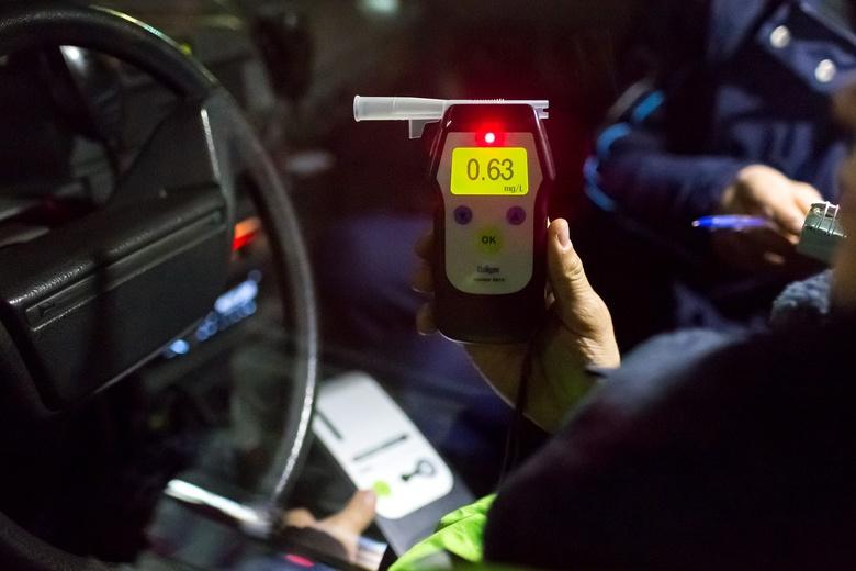 Томские полицейские задержали 47 пьяных водителей за выходные