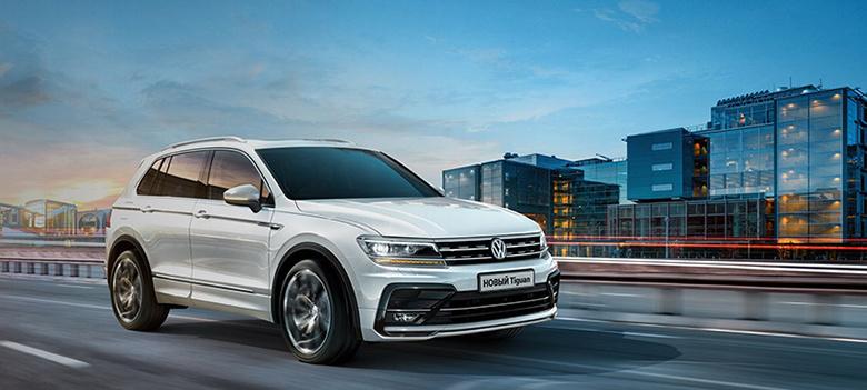 Volkswagen Tiguan — автомобиль-мечта
