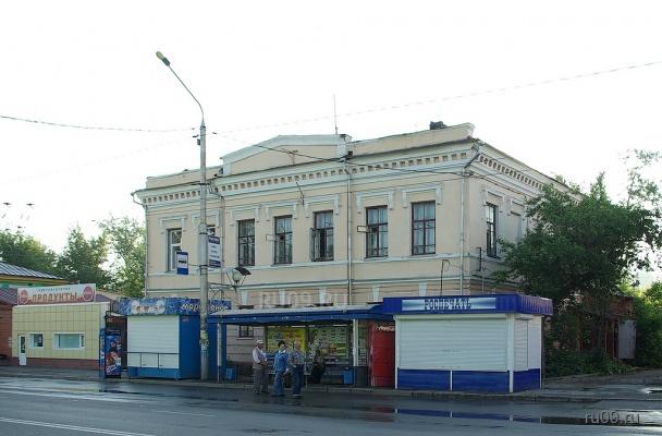 Снесенный дом на Ленина, 143