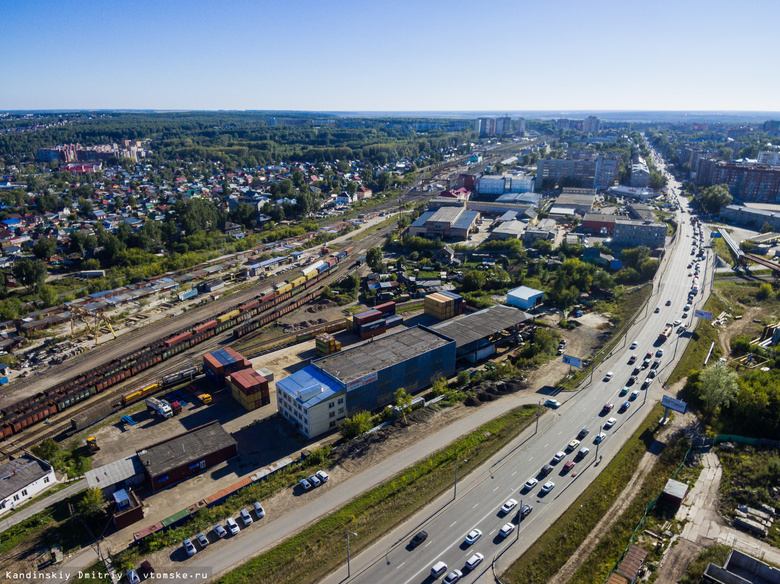 Томские власти надеются получить проект расширения Степановского переезда к октябрю