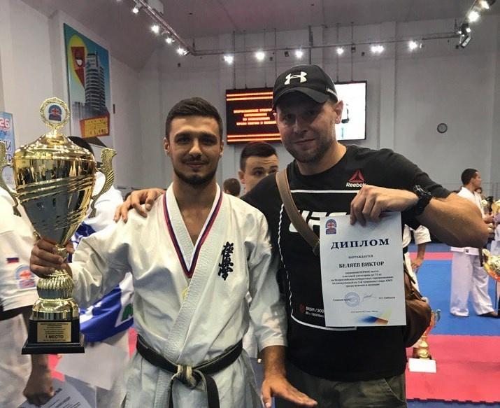 Томич стал чемпионом мира по киокусинкай