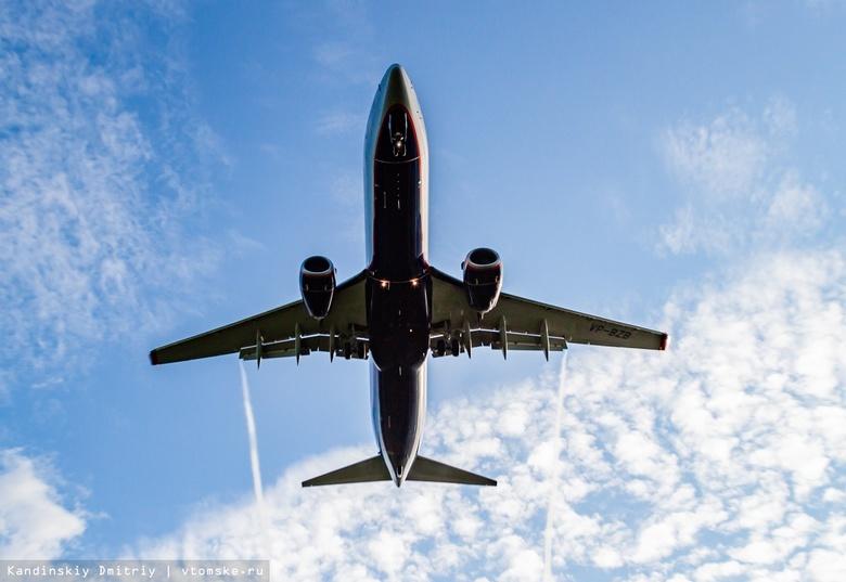 Пассажир рейса Москва — Томск грозился взорвать самолет из-за просьбы надеть маску