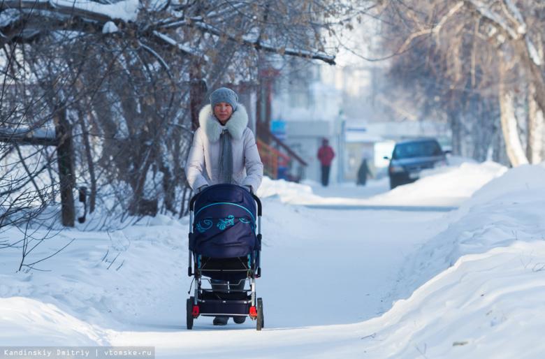 Новое пособие на первенца в 2018г получат 3 тыс семей Томской области