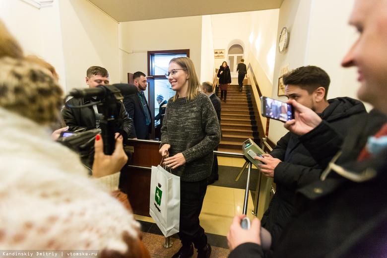 Мэр пообещал Ксении Собчак разобраться с «мошенниками», обманувшими томичей