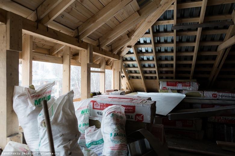 Потолок обрушился в двухэтажном жилом доме на пр.Комсомольском