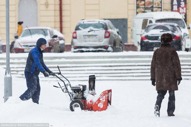 Томичей предупреждают об усилении ветра до 20 м/с и снегопадах