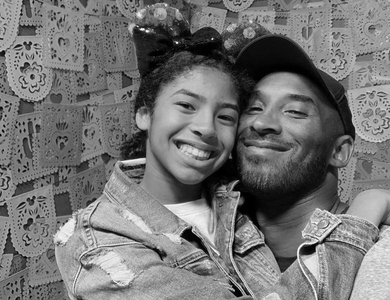 Коби Брайант и его дочь Джанна