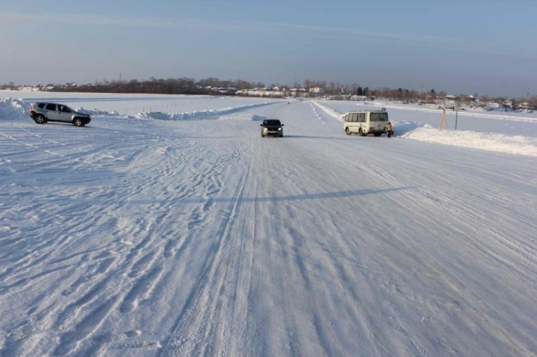 Еще одна региональная ледовая переправа заработала в Томской области