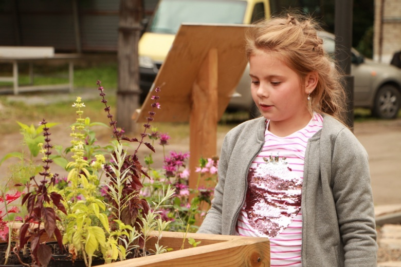 Реабилитация через природу: как в Томске работает сенсорный сад для детей-инвалидов