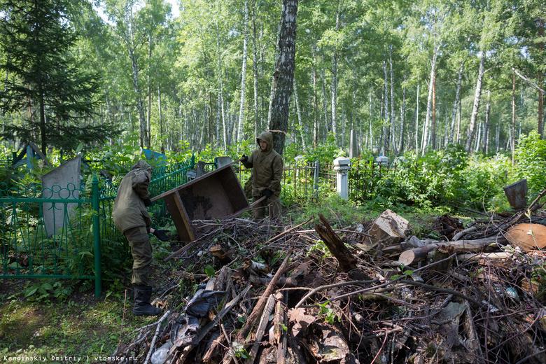 Томский студотряд «Память» уберет мусор и скосит траву на Северном кладбище