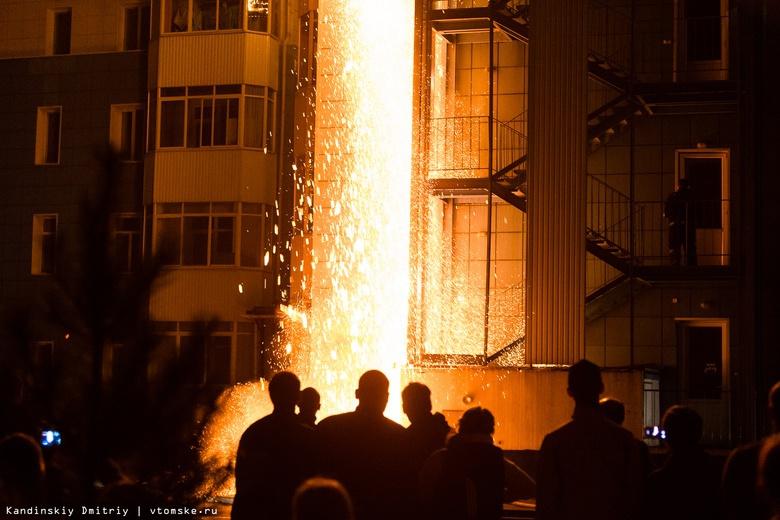 Пожар в доме на Вавилова в Томске ликвидировали спустя 8 часов